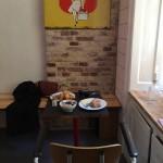 Kaffebar Rist på Værnedamsvej i Köpenhamn
